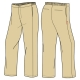 Boy's Khaki Trousers (Winter)