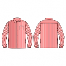 Regular L/S Pinstripe Shirt (Winter)