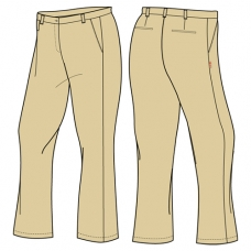 Girls Khaki Trousers (Summer & Winter)