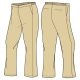 Girls Khaki Pants (Winter)