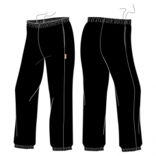 Black Track Pants (Brush)