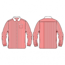 L/S Pinstripe Blouse (Winter)