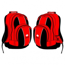 Red School Bag (Summer & Winter)