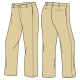 Boy's Khaki Trousers (Summer & Winter)